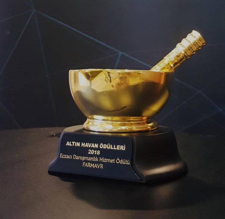 FARMAVR - Altın Havan Ödül Töreni